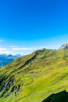 Bela montanha dos alpes em grindelwald, suíça