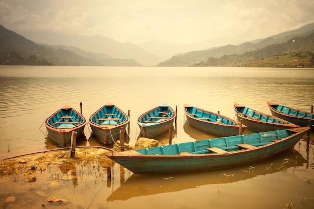 Bela paisagem asiática