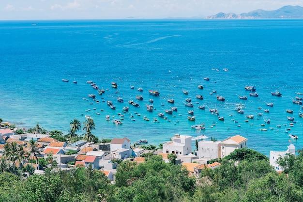 Bela paisagem da ilha tropical