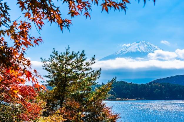 Bela paisagem da montanha fuji