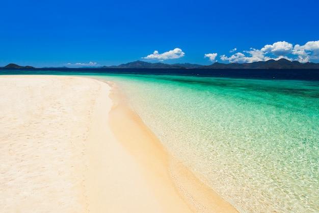 Bela paisagem das águas claras
