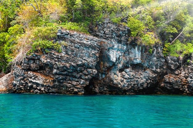 Bela paisagem do oceano