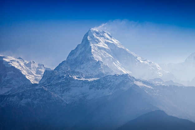 Bela paisagem no himalaia