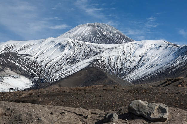 Bela paisagem vulcânica