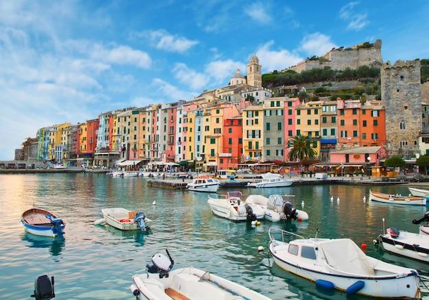 Bela portovenere - costa da ligúria da itália