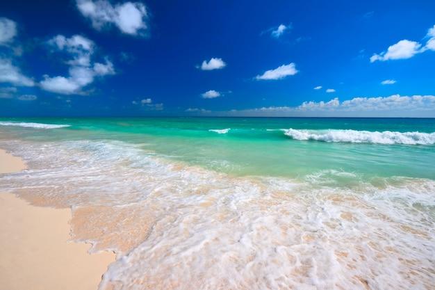 Bela praia e mar