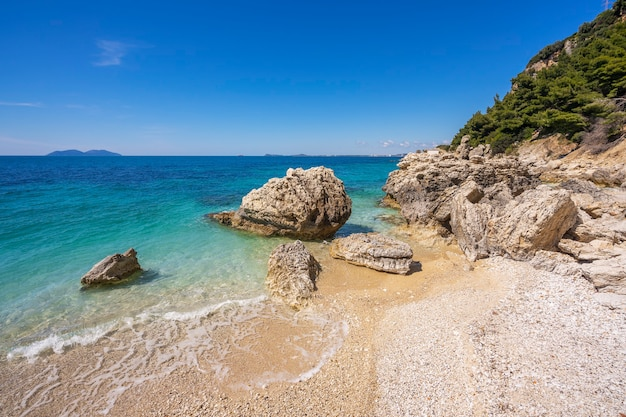 Bela praia na albânia vlore