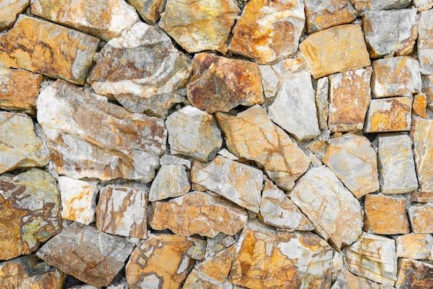 Bela textura de parede de rocha com espaço de cópia para o fundo