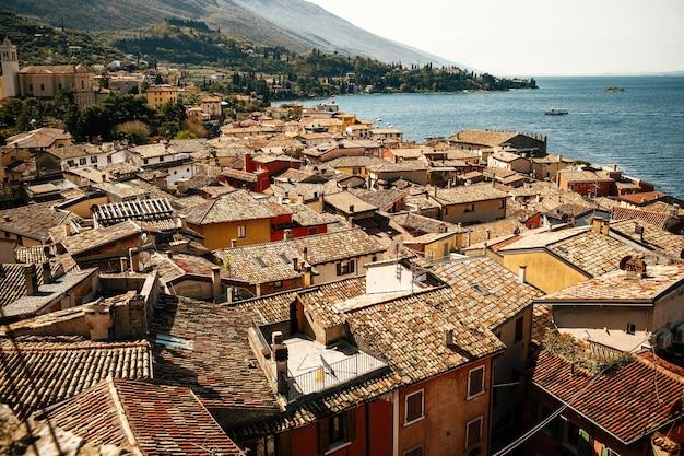 Bela vista da cidade da velha verona, itália