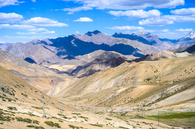 Bela vista da montanha