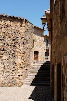 Bela vista de prédios antigos
