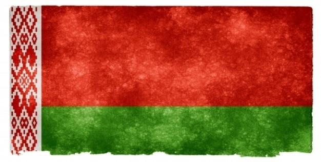 Belarus grunge bandeira