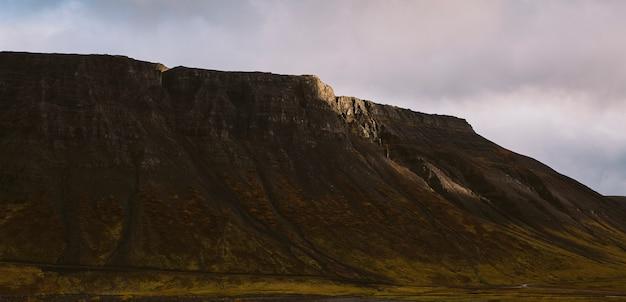 Belas fotos panorâmicas de paisagens islandesas que transmitem beleza e tranquilidade.