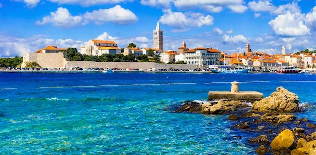 Belas ilhas da croácia rab