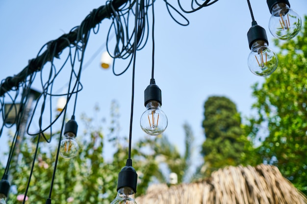 Belas lâmpadas decorativas