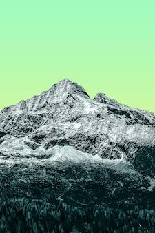 Belas paisagens pop brilhantes