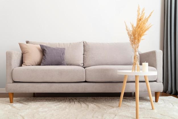 Belo conceito de design de quarto interior