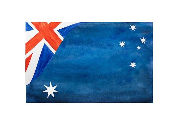 Belo desenho da bandeira australiana.