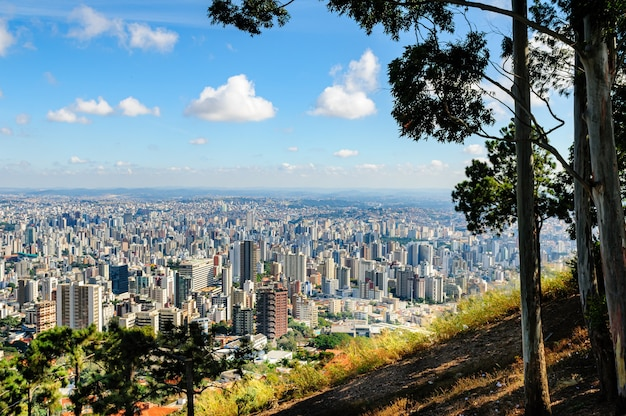 Belo horizonte minas gerais brasil vista geral da cidade