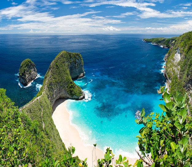 Belo mar bali ilha indonésia