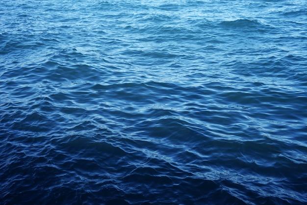 Belo telefone com água no mar