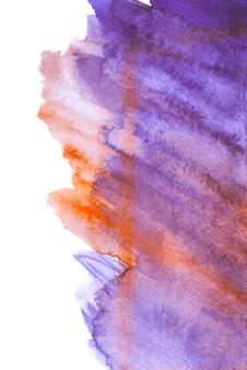Belo toque de textura aquarela