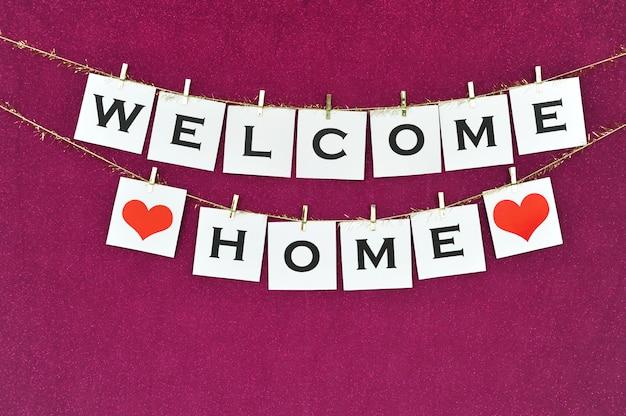 Bem-vindo ao banner em casa