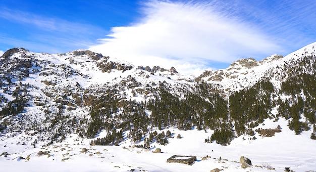 Benasque llanos del hospital esqui cross country