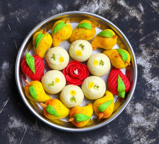 Bengali mix comida doce