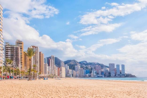 Benidorm, espanha levante beach