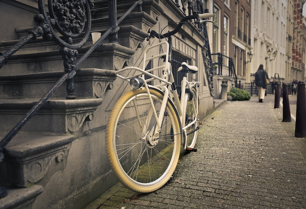 Bicicleta, em, amsterdão