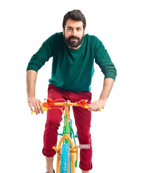 Bicicleta modelo modelo latino colorido