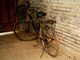 Bicicleta velha, hanoi