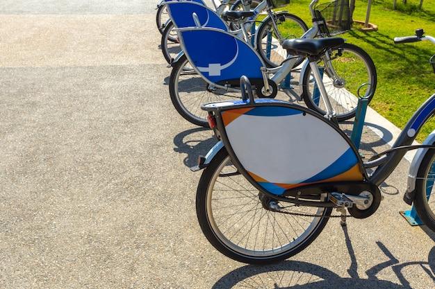 Bicicletas da cidade para alugar
