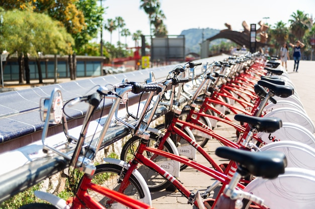 Bicicletas estacionamento