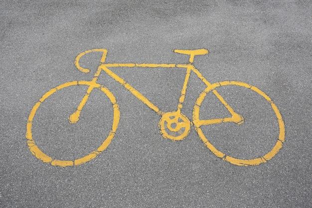 Bicicletas permitidas sinal