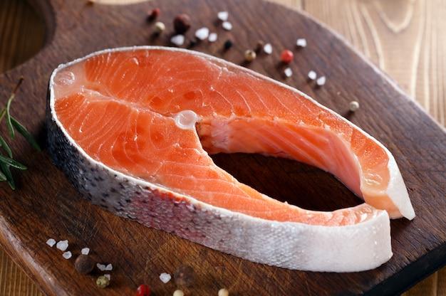 Bife de salmão