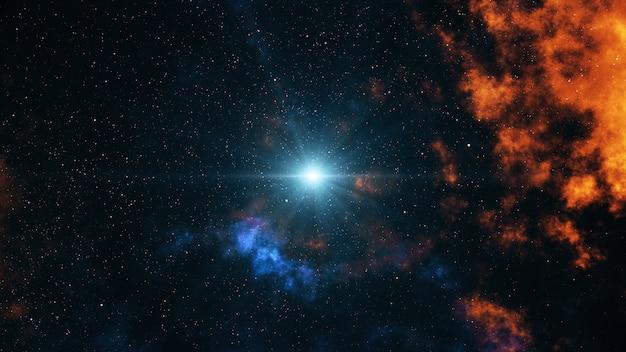 Big bang no espaço