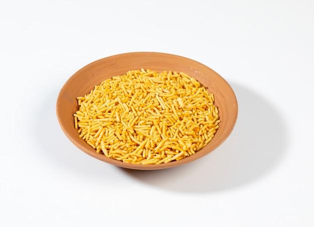Bikaneri tradicionalmente picante bhujia sev