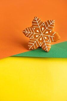 Biscoito de gengibre natal sobremesa biscoitos regalo de ano novo