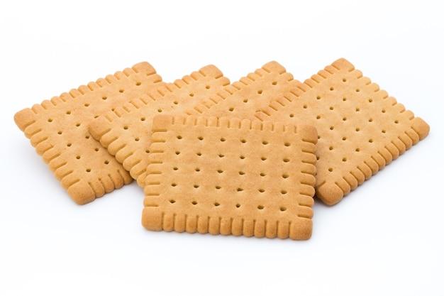 Biscoito de manteiga em branco