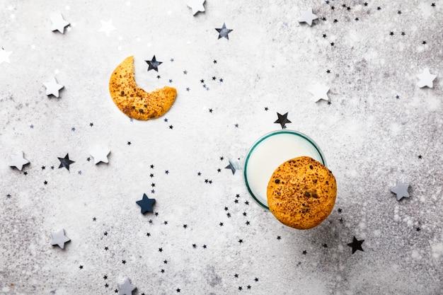 Biscoitos assados de natal