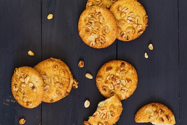 Biscoitos com amendoim