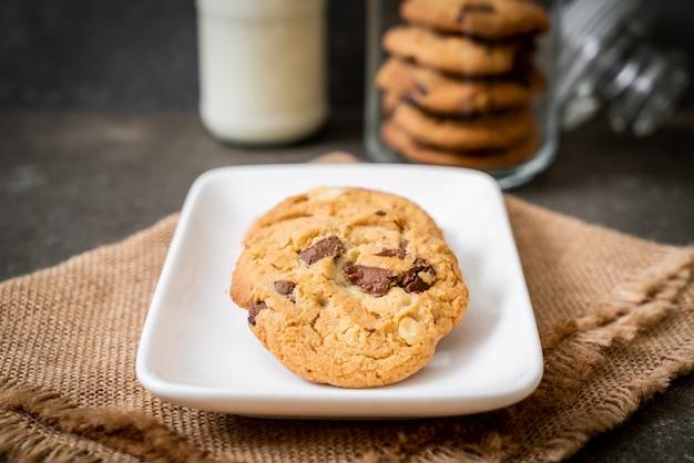 Biscoitos com pepitas de chocolate