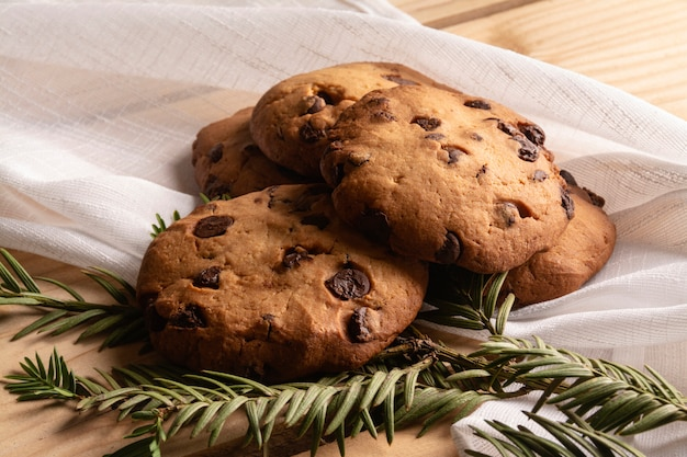 Biscoitos com teixo