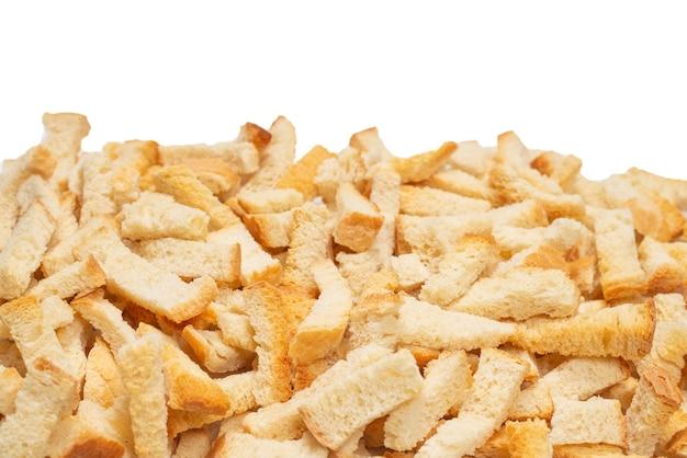 Biscoitos como superfície. vista do topo.
