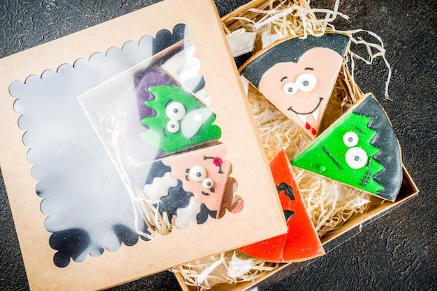 Biscoitos criativos de halloween