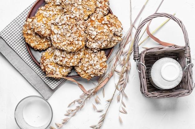 Biscoitos de aveia caseiros