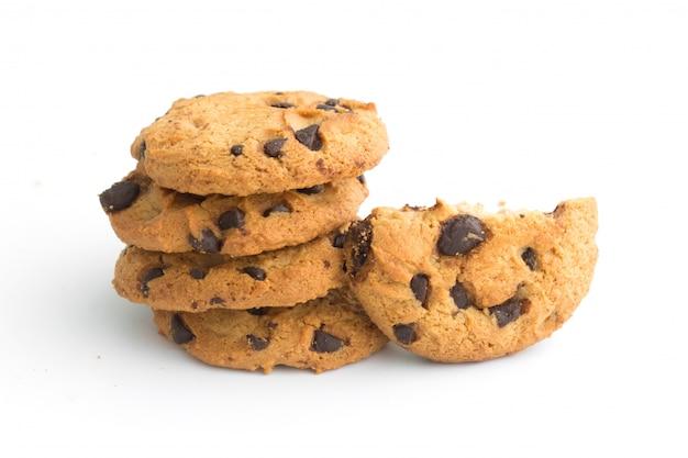 Biscoitos de chocolate caseiros
