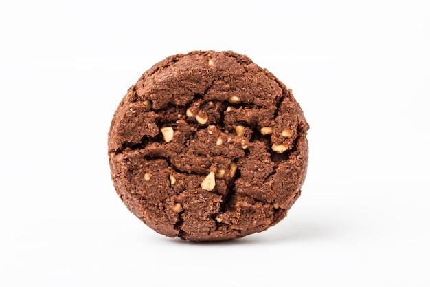 Biscoitos de chocolate isolados
